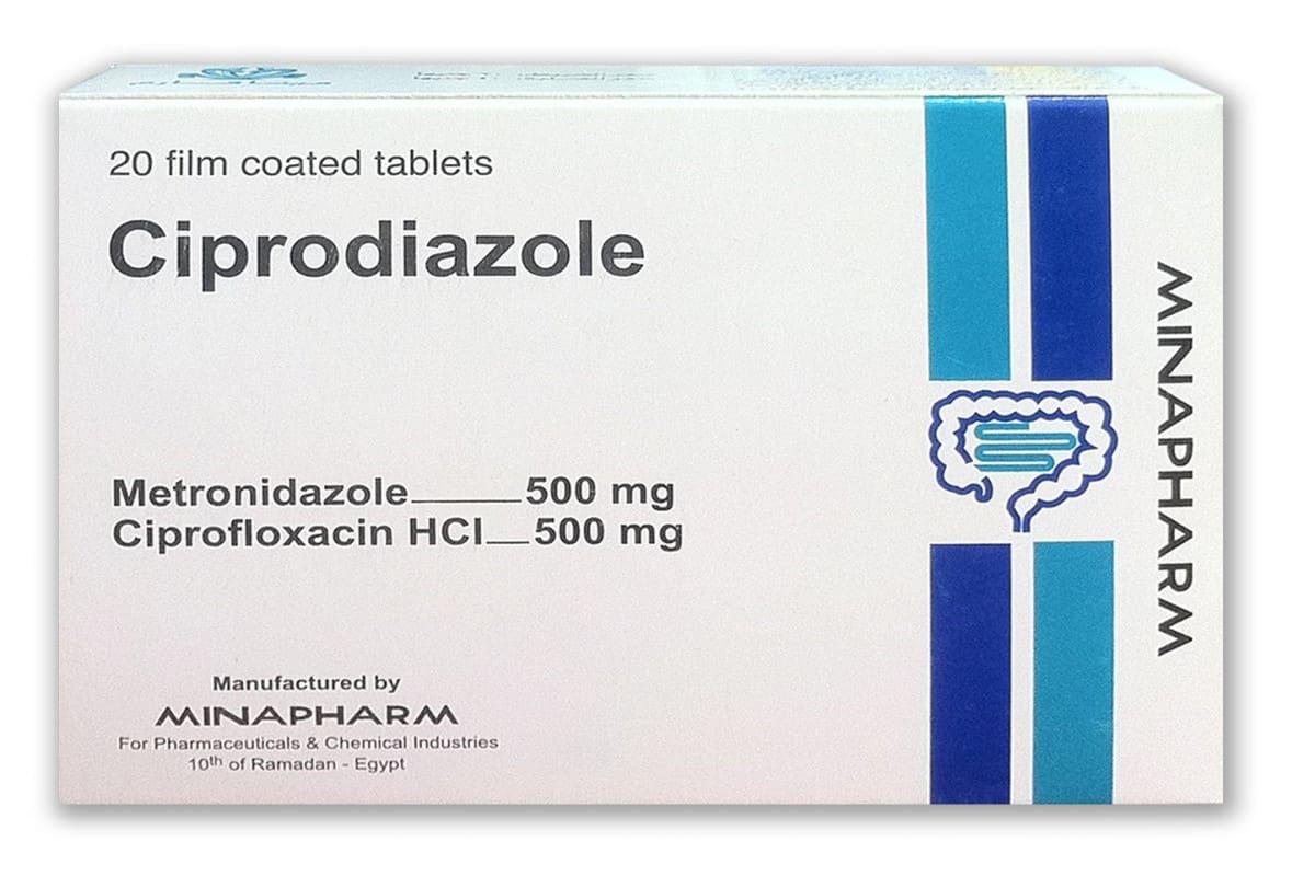 Ciprodiazole100m/Tablet