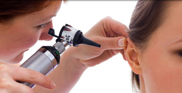 أعراض سرطان الأذن