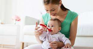 Baby food in the seventh month